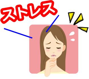 精神的なストレスは体に不調を来す一因でもある